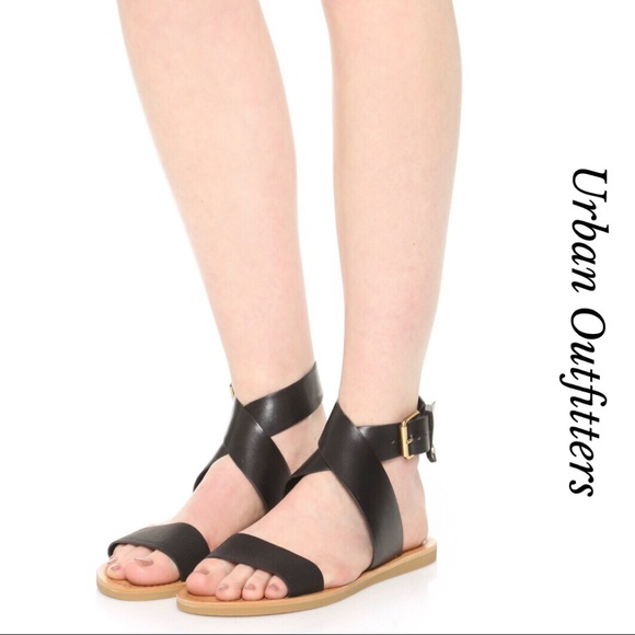 b63a7eb0362d80 URBAN OUTFITTERS LEATHER ANKLE WRAP SANDALS. M 5a7d0756c9fcdf82f78d8a32